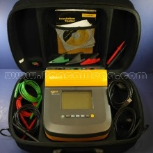 Used Fluke 1550C 5kV 5000 Volt Insulation Tester with Accessories and Case
