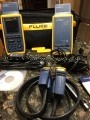 Used Fluke Networks OMNIScanner 2 Cat5 Cat5e Cat6 Certifier Tester Cable Analyzer