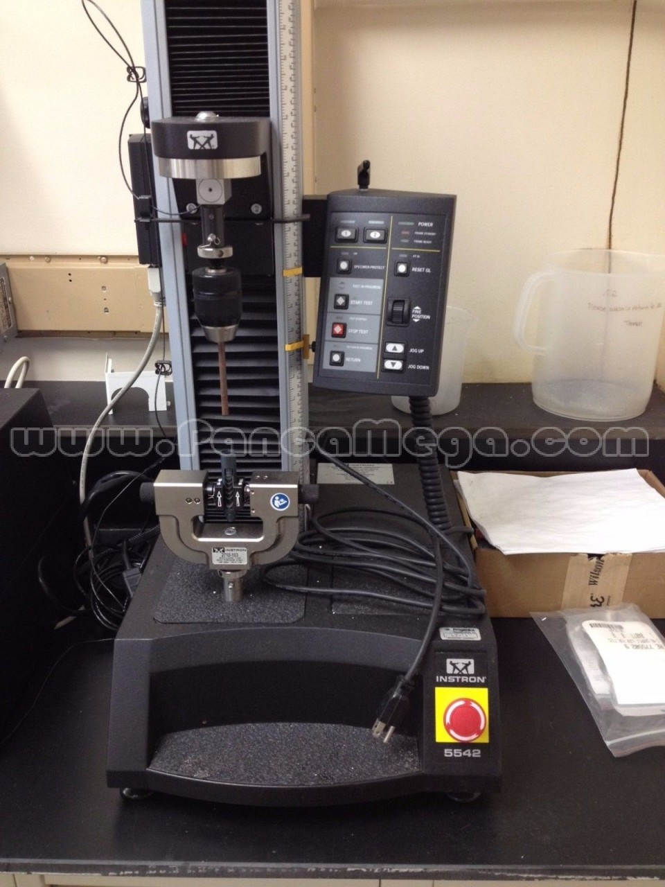 Used Instron Model 5542 Tensile Tester