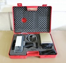 Used Schleuniger HC 207 Fully Portable Coaxial Cable/Wire Stripping Machine