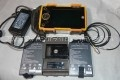 GE Inspection USM Go Ultrasonic Flaw Detector W/ Tow Batteries 5MHz Transducer